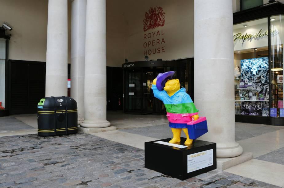 Esse ursinho colorido foi criado pela ex-bailarina Darcey Bussell