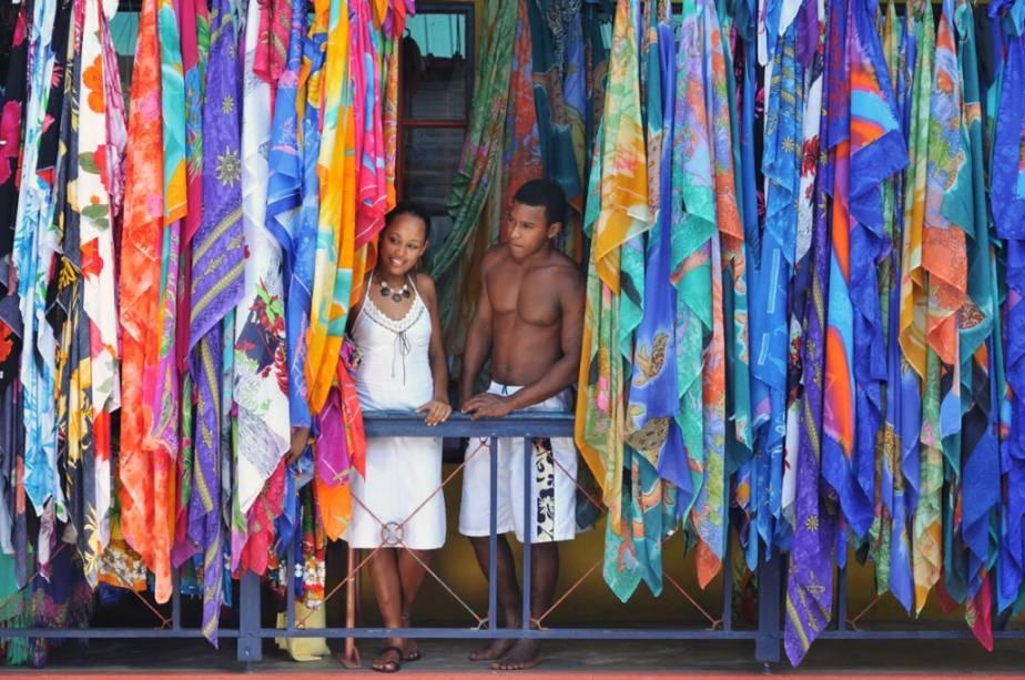 Mercado em Mahé, Seychelles