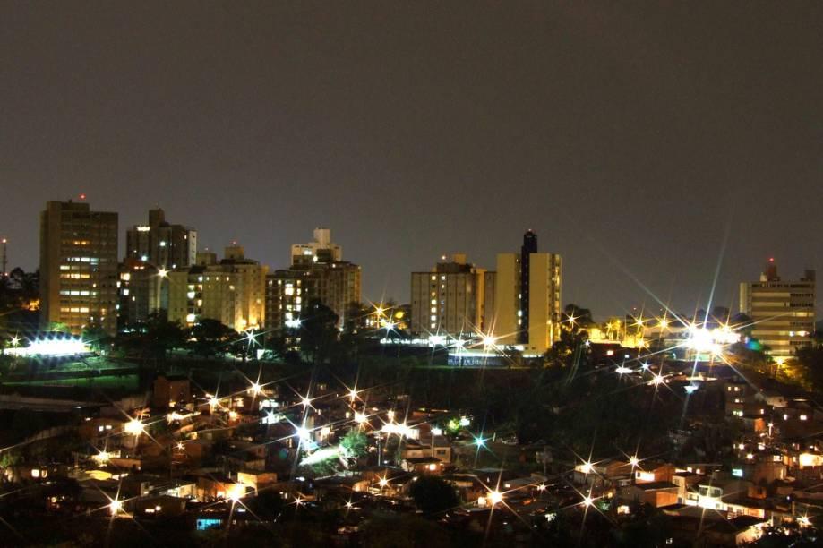 Vista da região do bairro Jardim Flamboyant, em Campinas, um bairro de classe média alta da Região Leste de Campinas