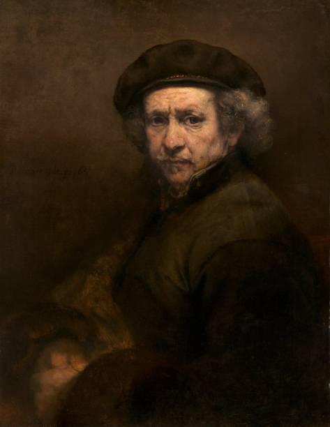 Autorretrato (detalhe), Rembrandt van Rijn,1659, no National Gallery of Art