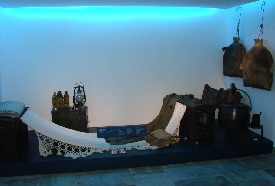 Representação de Tropeiros no Museu do Oratório, em Outro Preto