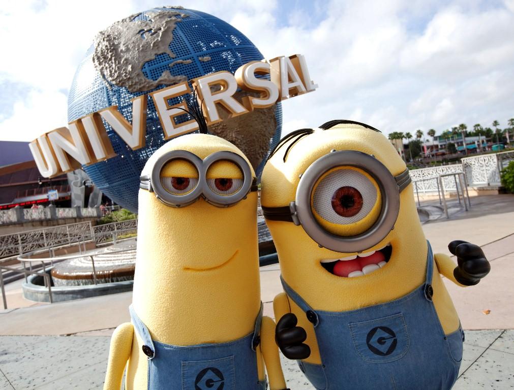 Minions no Universal Studios, Orlando, Flórida