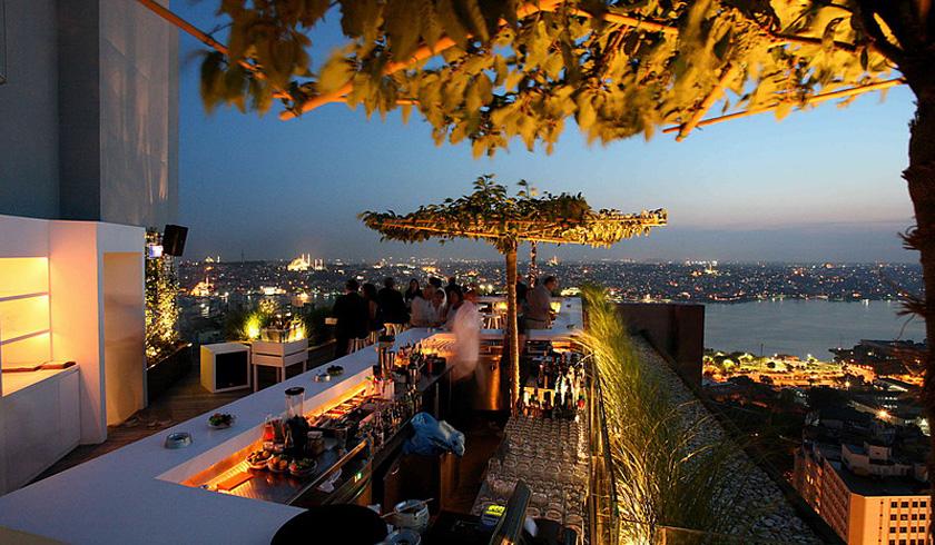 Restaurante Mikla, Hotel Marmara Pera