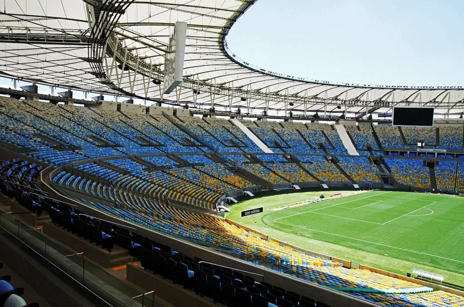 Estádio completou 64 anos em 16 de junho de 2014, no meio da Copa do Mundo