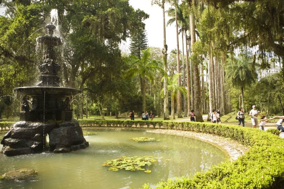 Criado por Dom João VI, O Jardim Botânico do Rio de Janeiro (RJ) é o maior do Brasil