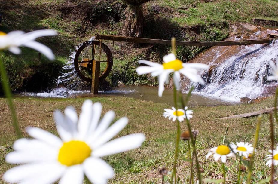Apesar da respeitável estrutura turística, Monte Verde preserva suas características rurais