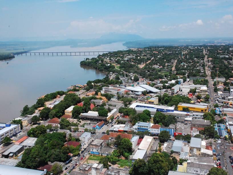 Vista aérea de Boa Vista em Roraima