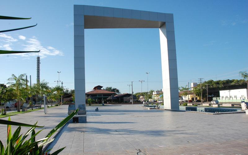 Portal do Milênio na Praça das Águas, Boa Vista, Roraima