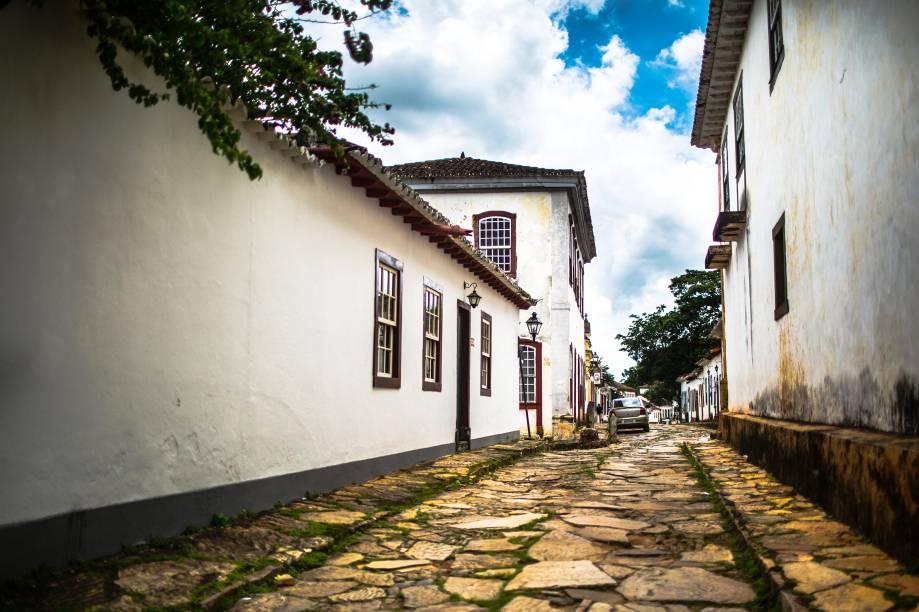 Um passeio a pé pela Rua da Câmara, no Centro Histórico deTiradentes, pode sempre render boas fotos