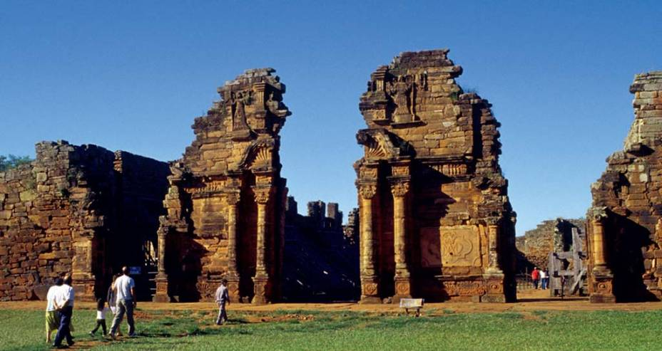As ruínas de San Ignacio Miní