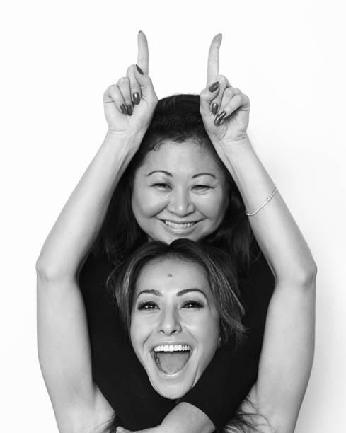 A modelo Sabrina Sato com a mãe Kika