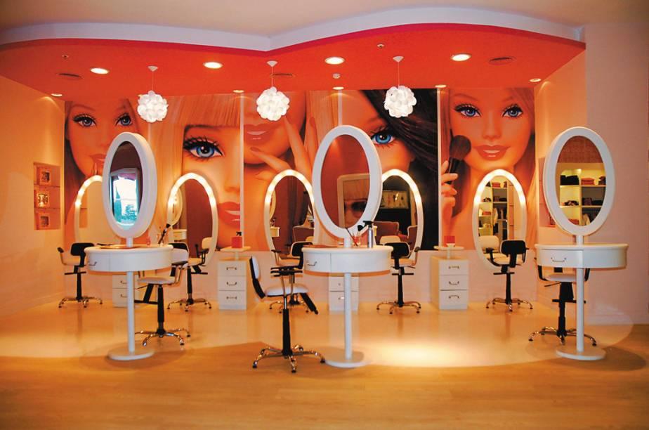 Salão da Barbie Store de Buenos Aires