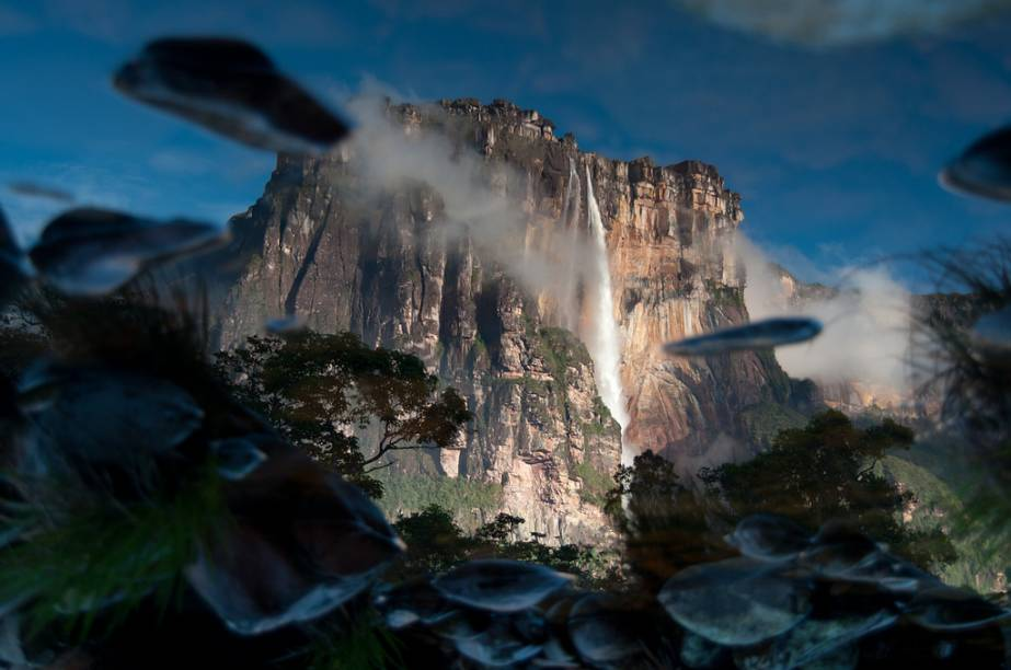 Salto Ángel, na Venezuela, a cachoeira mais alta do mundo