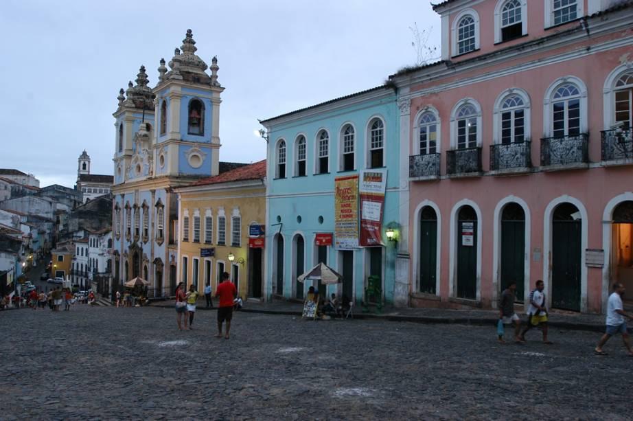 Igreja de Nossa Senhora do Rosário dos Pretos, que integra o conjunto arquitetônico do Pelourinho de Salvador