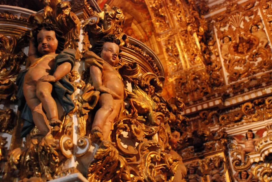 Detalhe da Igreja e Convento São Francisco de Assis
