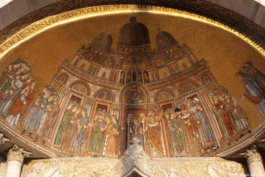 Decoração interna da Basílica de São Marcos