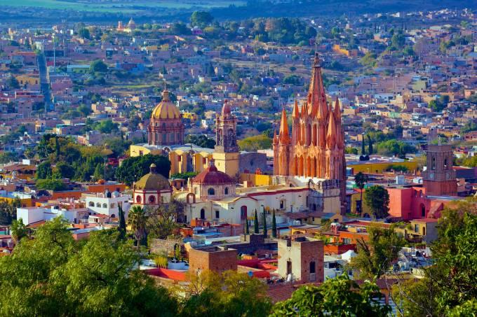 San Miguel de Allende, no México