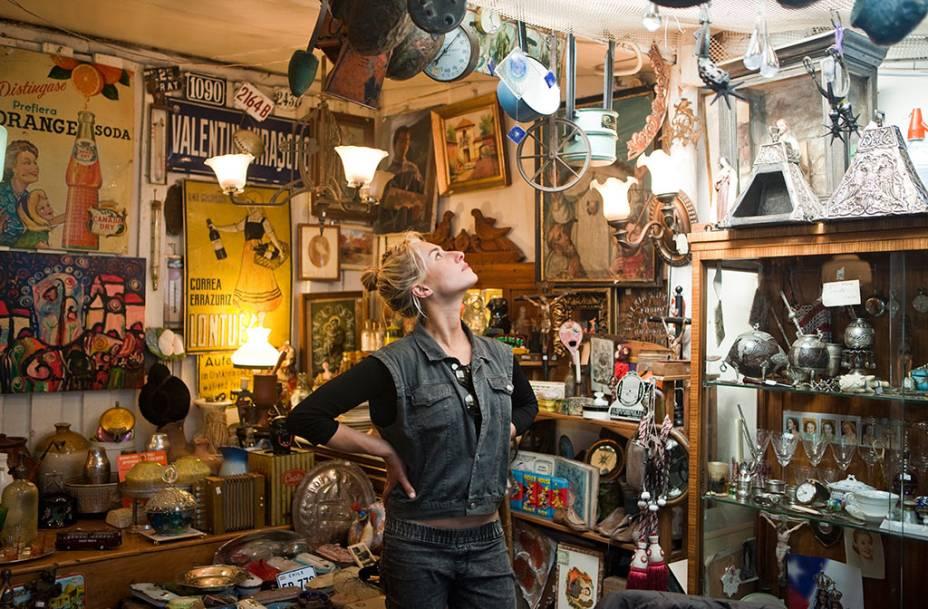 O Pueblito de los Domenicos, em Las Condes, possui divertidas lojas, cafés e ateliês