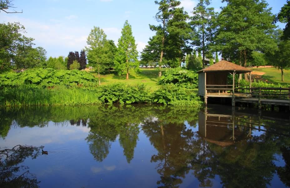 Savill Gardens, no The Great Park, em Windsor, Inglaterra, Reino Unido