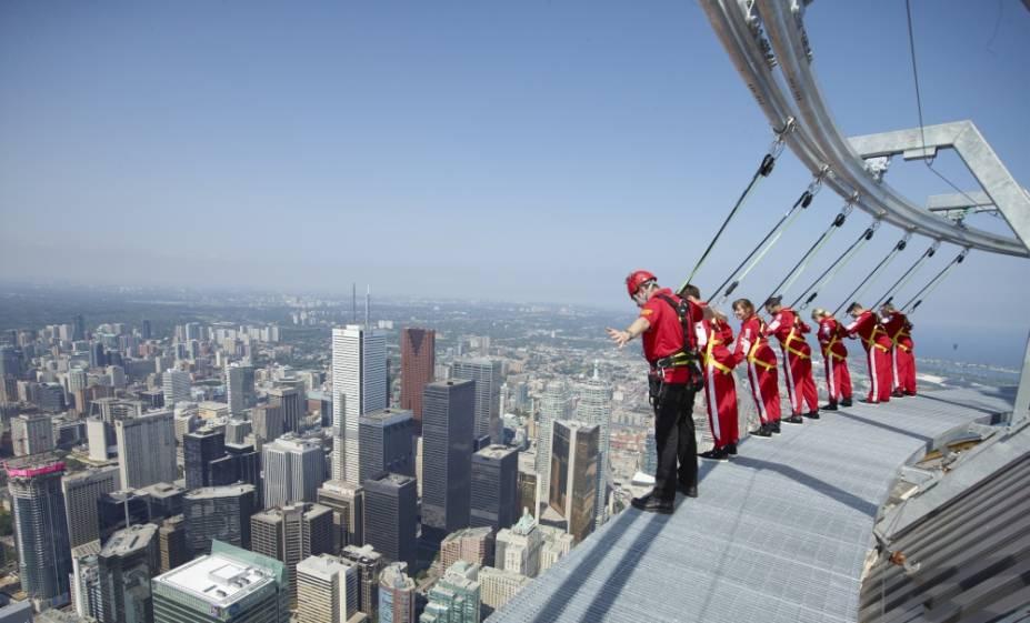 Uma experiência provocadora na CN Tower