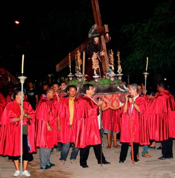 Procissão do Encontro, em Paraty, que celebra a união das imagens de Jesus Cristo e de Nossa Senhora das Dores
