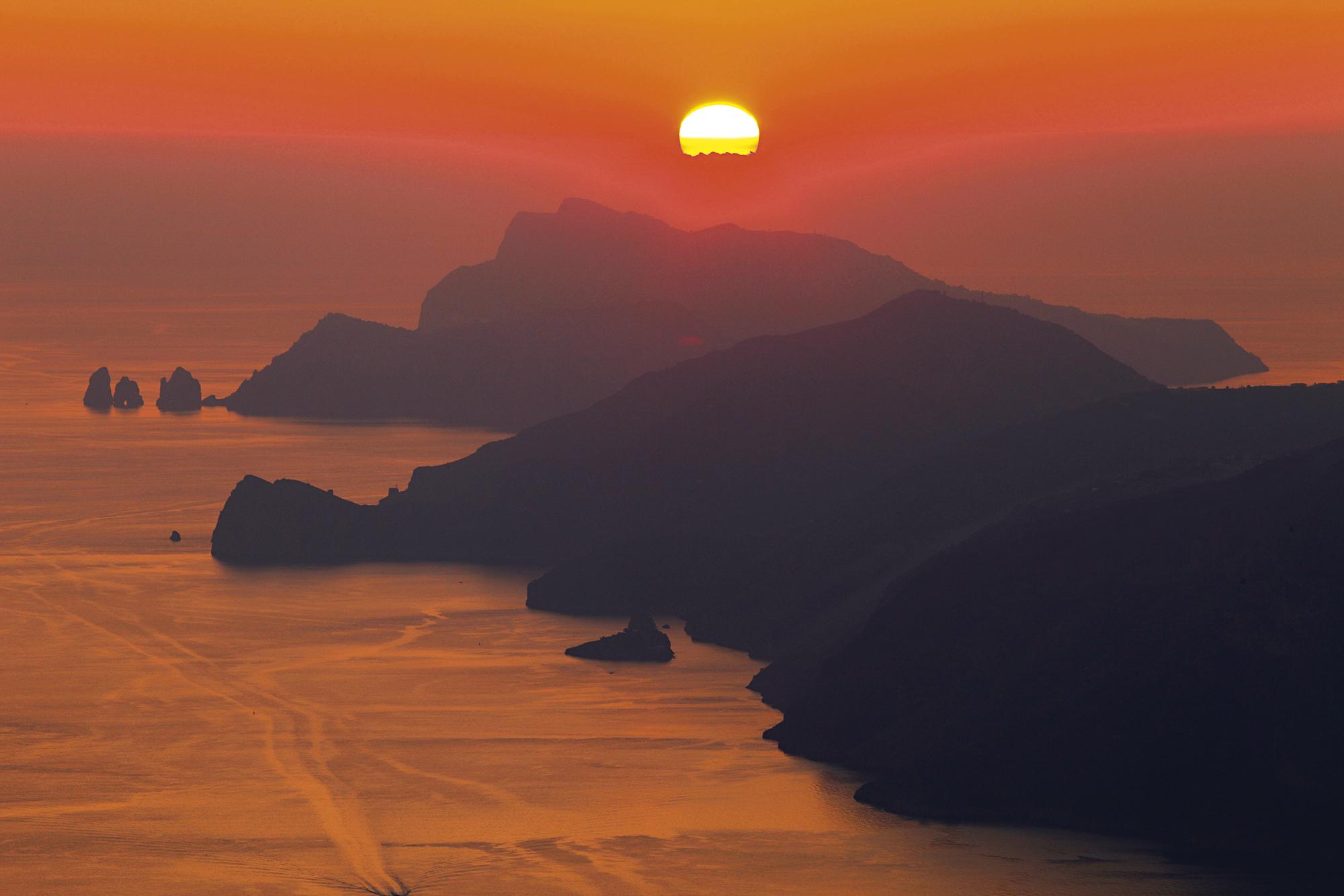 Sentiero degli Dei, COsta Amalfitana, Itália
