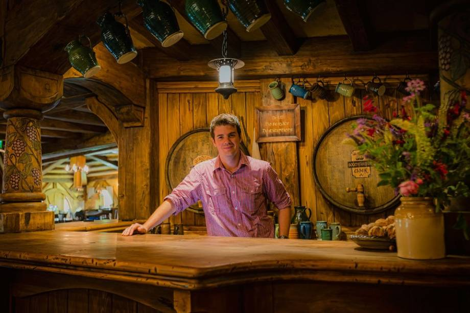 O gerente, Shayne Forrest, espera que a comida e a bebida servidas no local também sejam uma atração