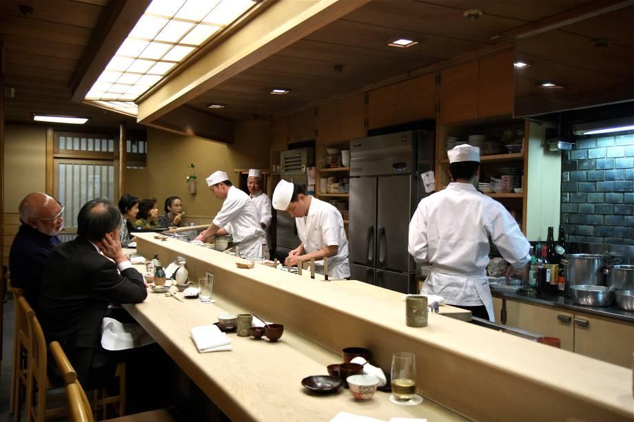 <strong>3. Shigeyoshi</strong>O tradicional restaurante <strong>Shigeyoshi</strong> é garantia de inesquecíveis rituais gastronômicos