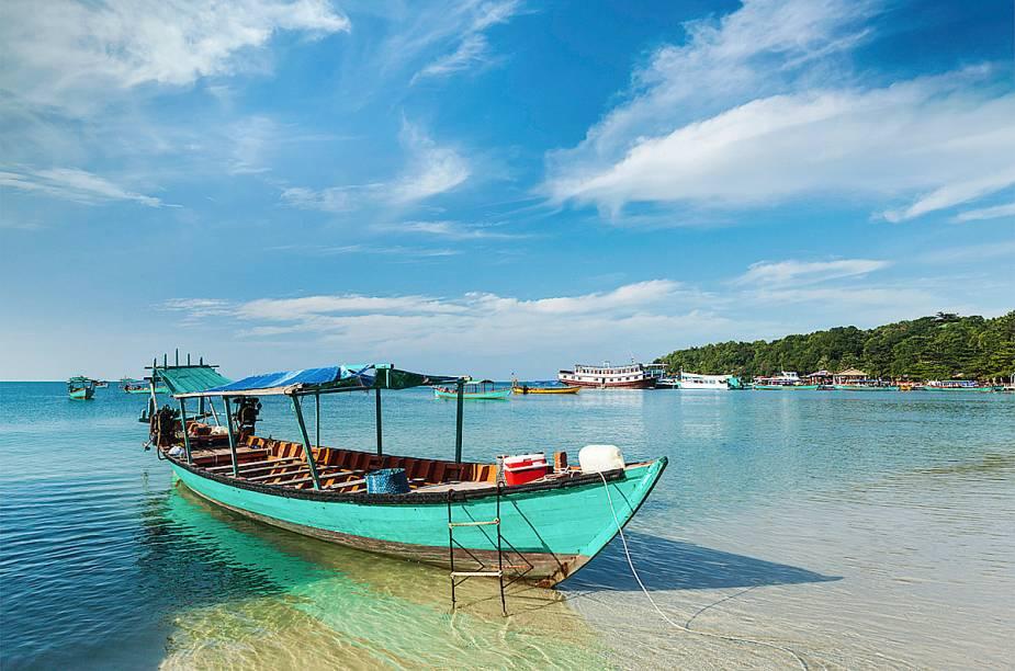 """<strong>2. Sihanoukville - <a href=""""http://viajeaqui.abril.com.br/paises/camboja"""" rel=""""Camboja"""" target=""""_blank"""">Camboja</a></strong>A cidade litorânea oferece opções interessantes para os fãs de mergulho. A Baía da Tailândia, que cerca o local, é responsável pelo visual."""