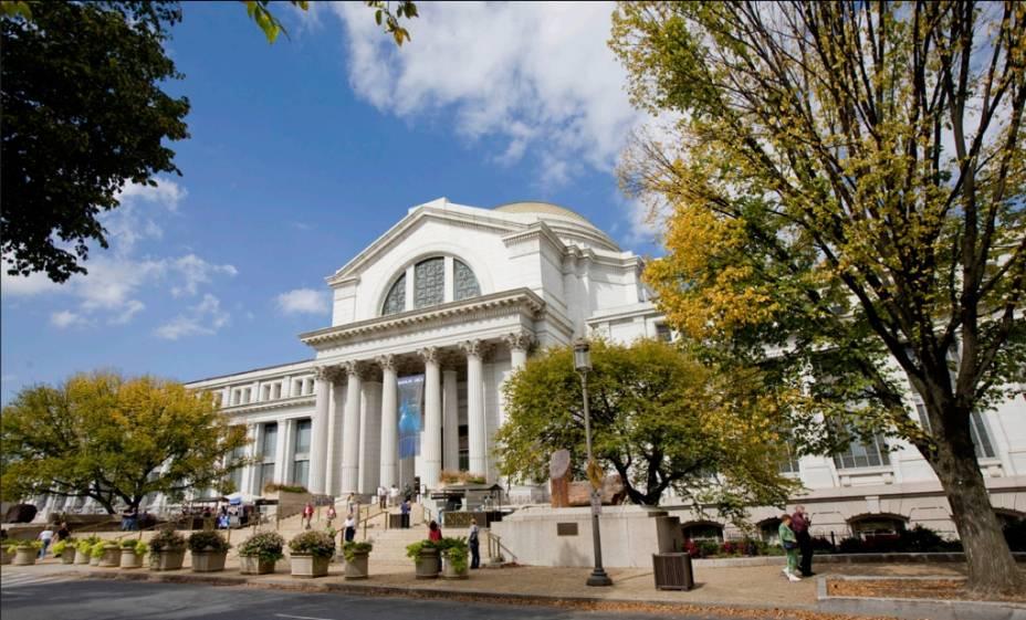 Museu de História Natural de Washington DC, parte do Instituto Smithsonian