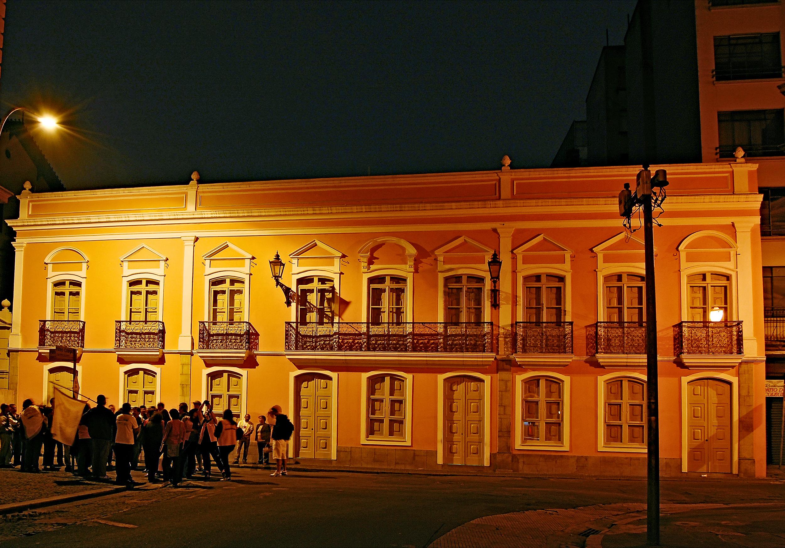 Solar da Marquesa de Santos, no Centro de São Paulo (SP)