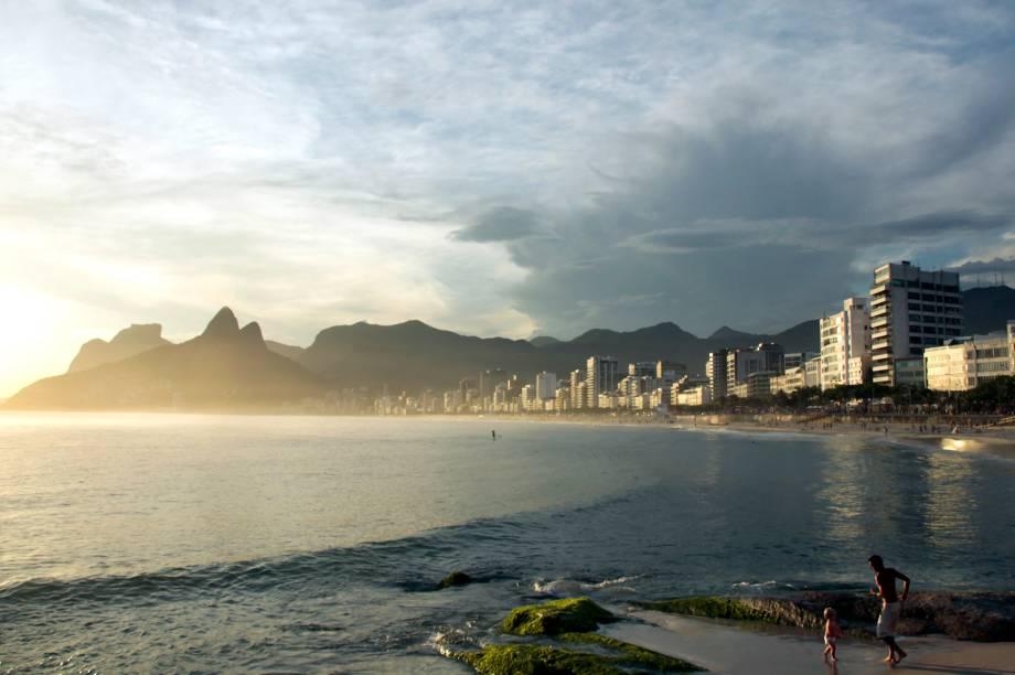 Encantos do Arpoador, na praia de Ipanema, Rio de Janeiro