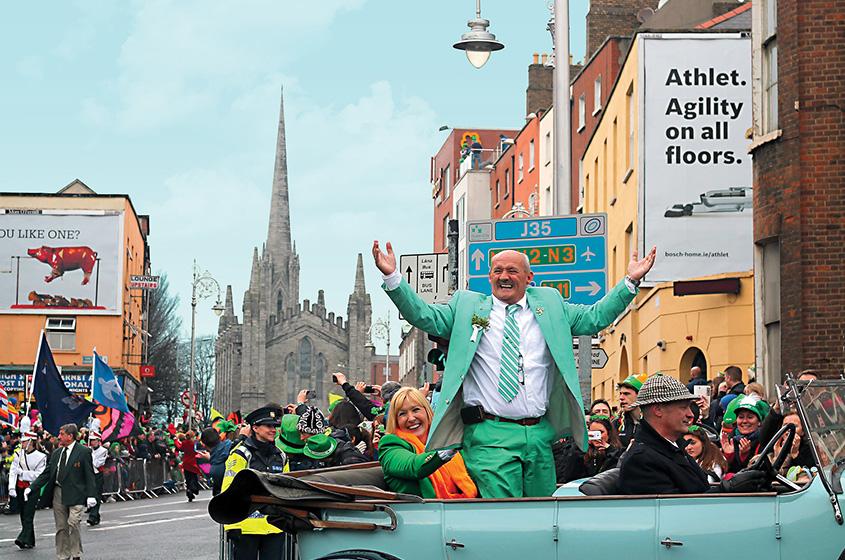 St Patrick's Day desfile 1, Dublin