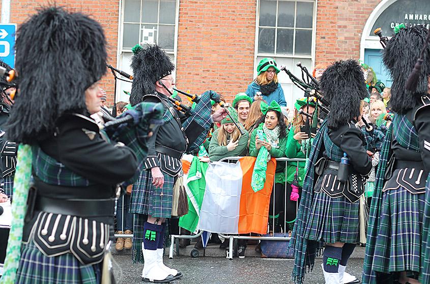 St Patrick's Day desfile 2, Dublin