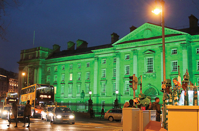 St Patrick's Day Trinity College, Dublin