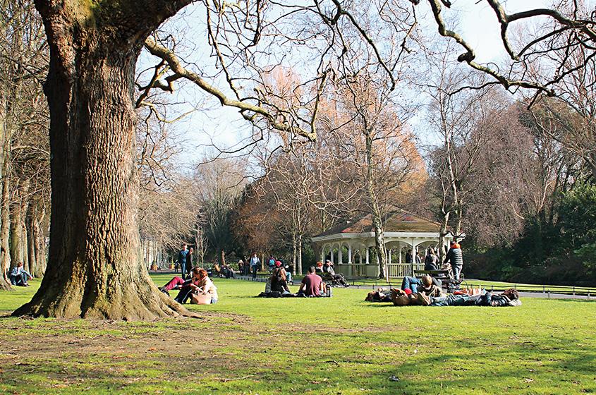 St Stephen's Green Park, Dublin