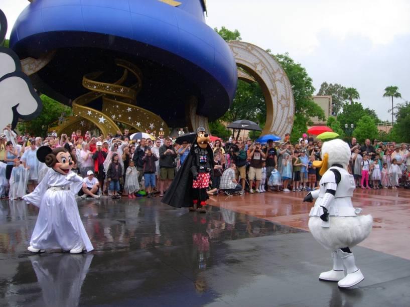 O Star Wars Weekends é um evento bastante concorrido e é necessário se programar bem para poder participar de algumas atividades