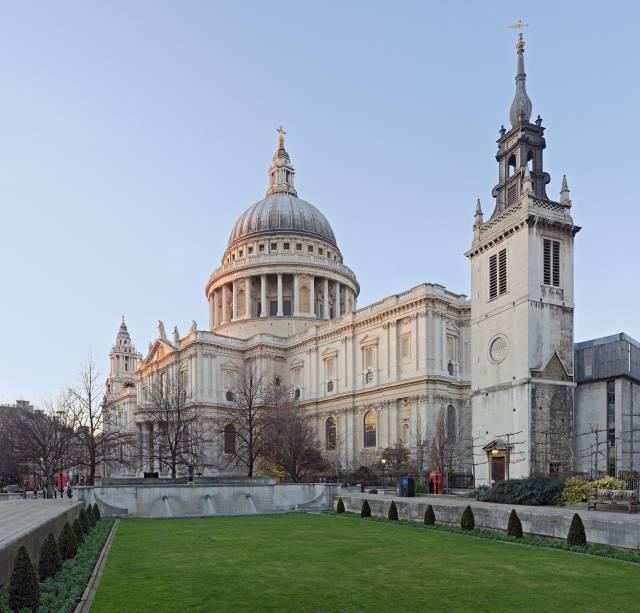 Catedral de Saint Paul, em Londres