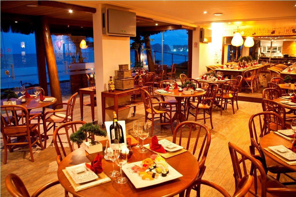 Sushi Bar do Ocean Palace Beach Resort & Bungalows, em Natal, Rio Grande do Norte