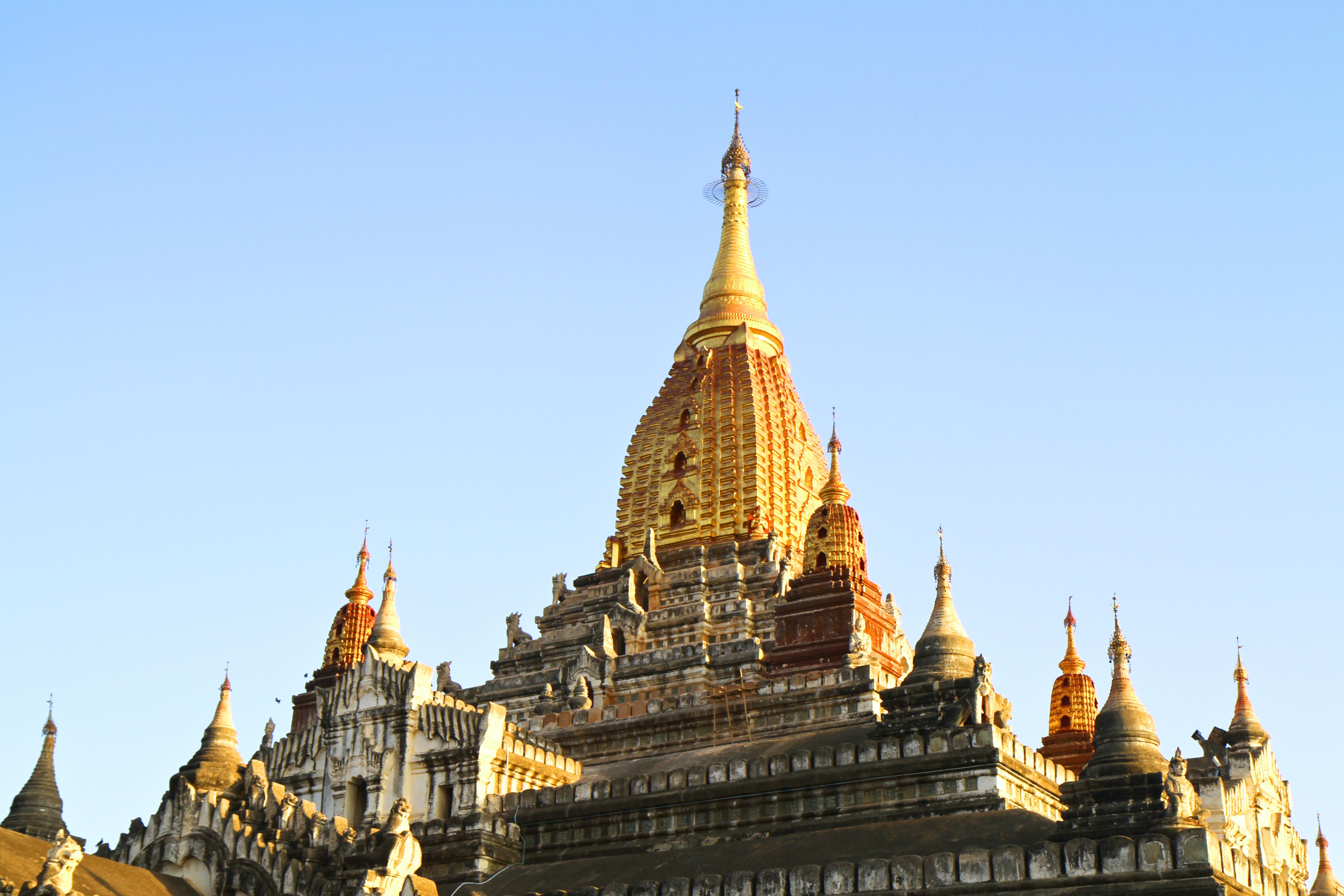 Templo de Ananda, Bagan, Mianmar