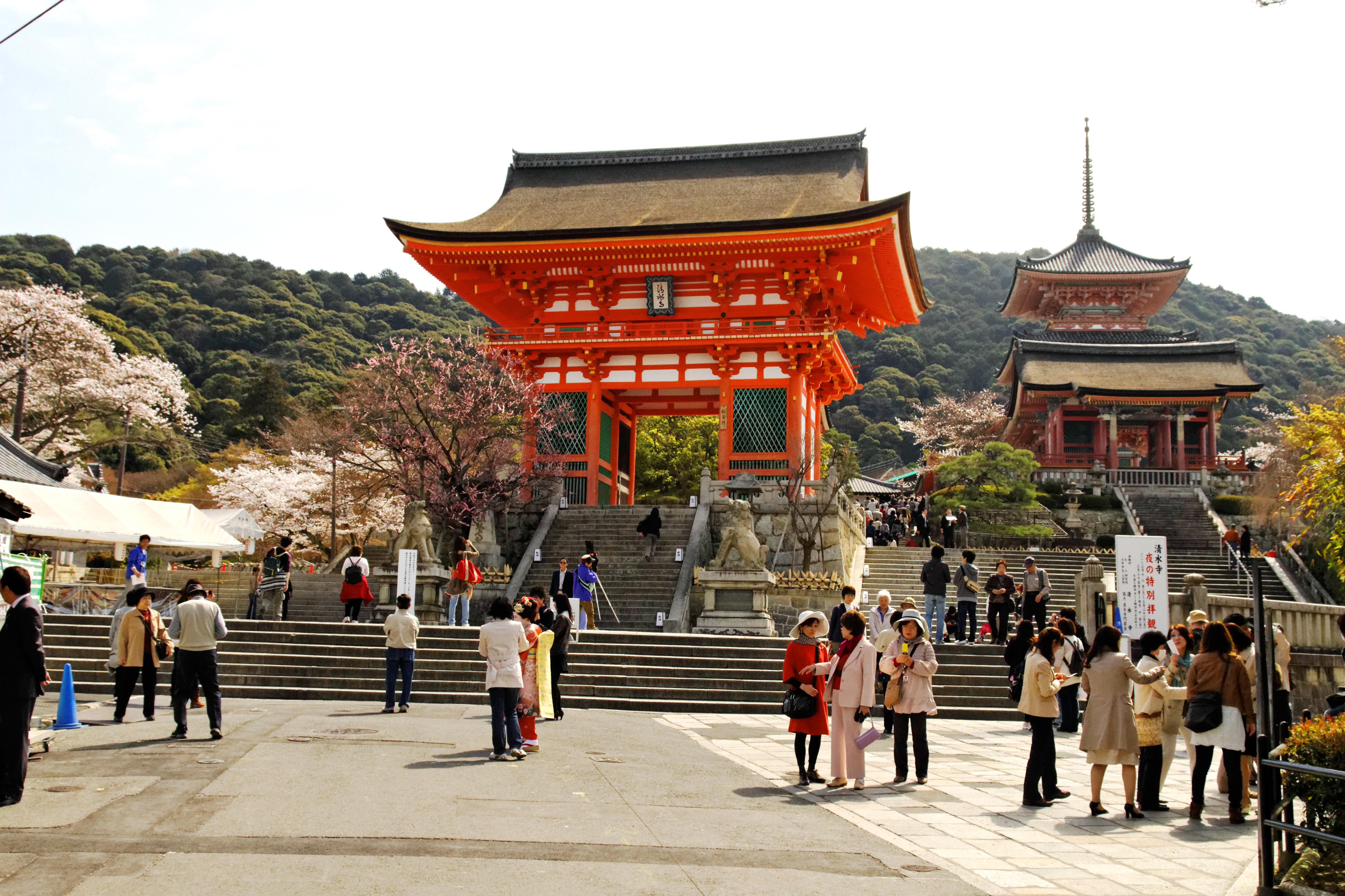 Templo de Kiyomizu-dera, Kyoto, Japão