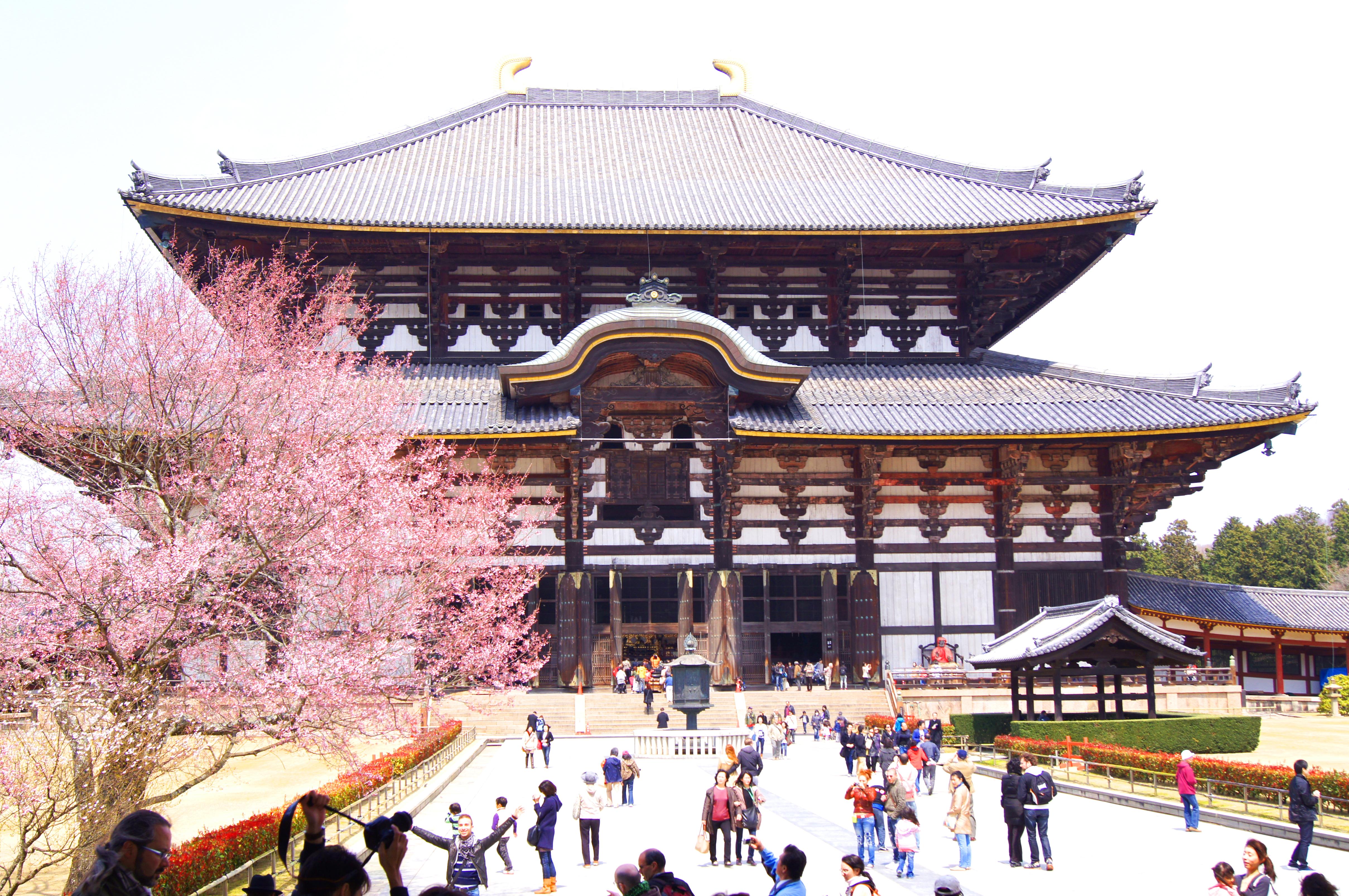 Templo de Tōdai-ji, Nara, Japão