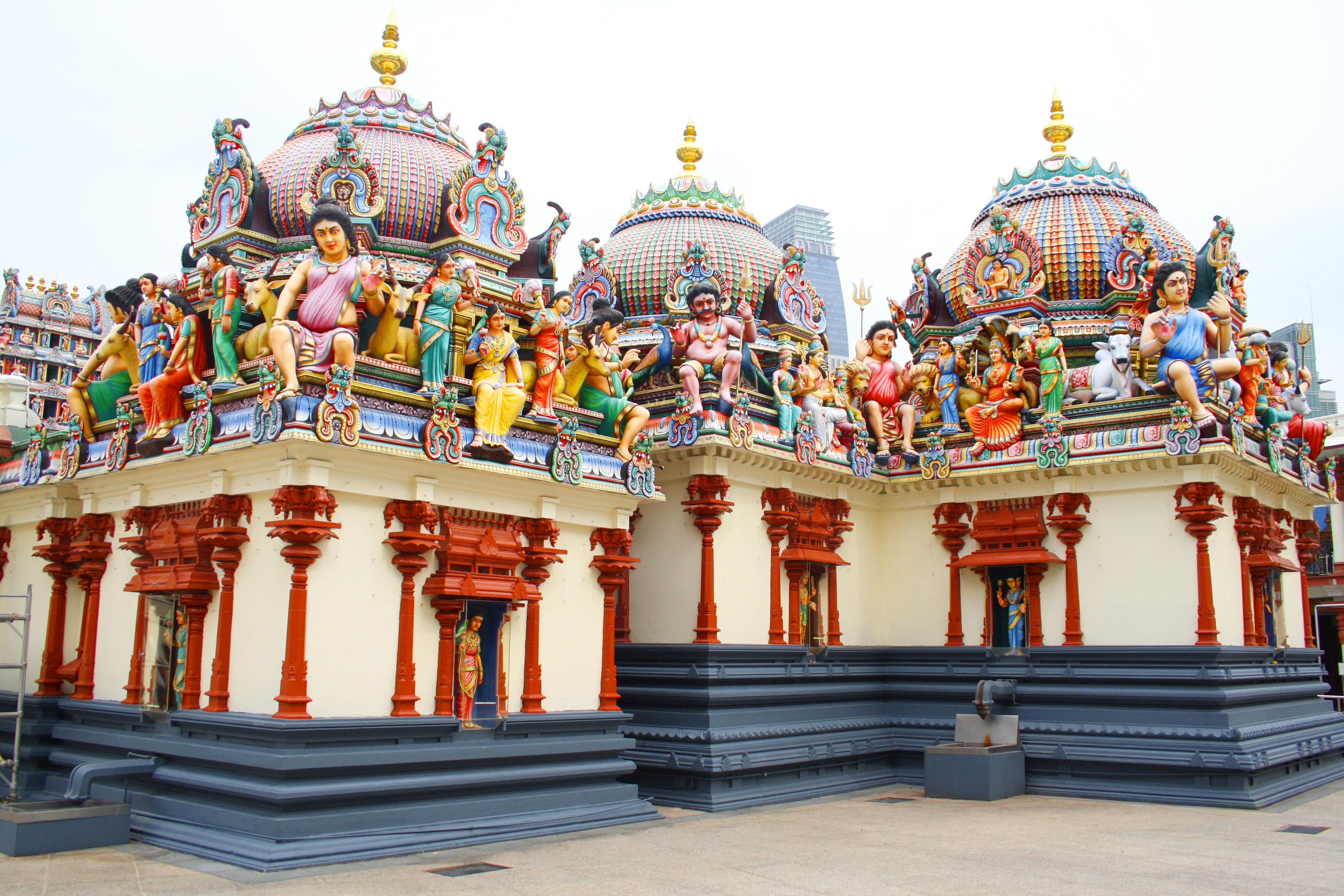 Templo Sri Mariamman, Cingapura