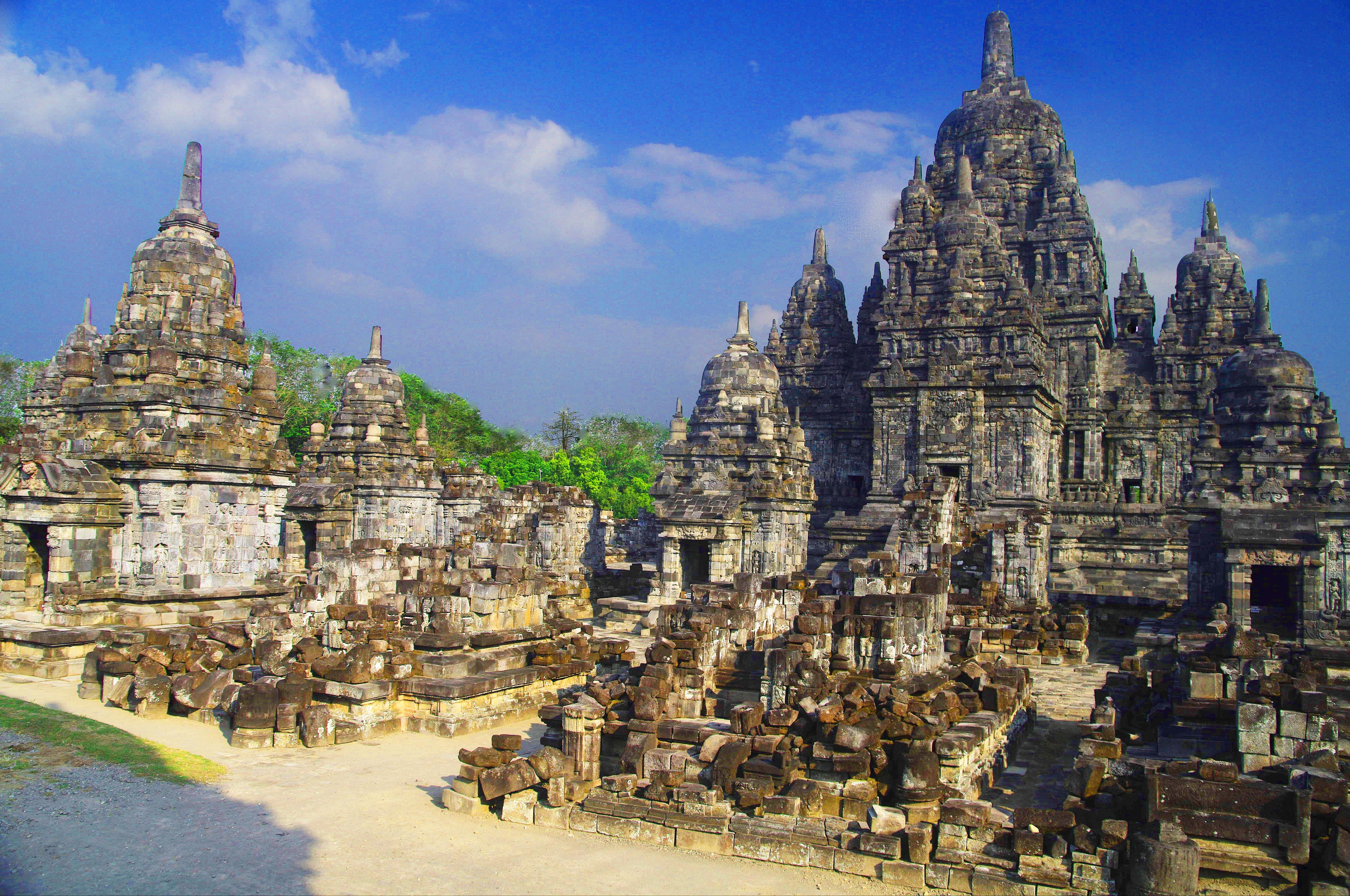 Templos de Prambanam, Indonésia