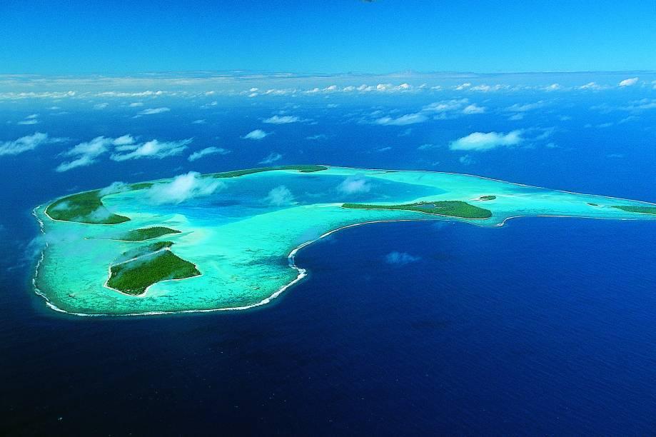 Tetiaroa, na Polinésia Francesa