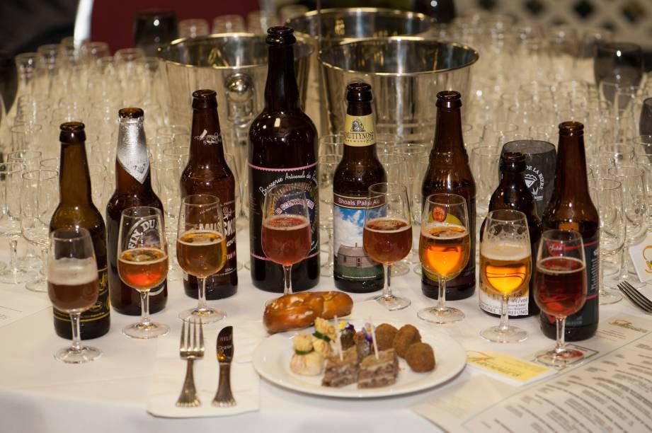 The Flaveurs Bières et Caprices, rótulos do Festival Mundial da Cerveja em Montreal
