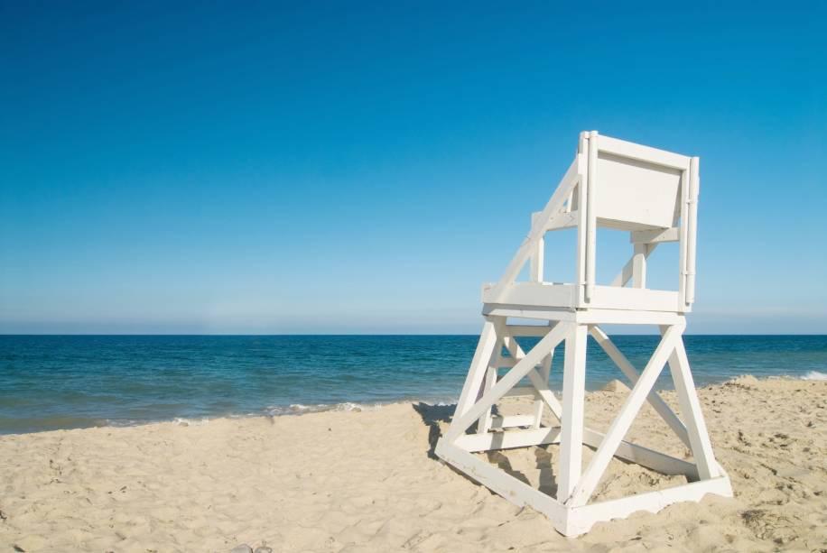 <strong>7. Coast Guard Beach, Cape Cod, Massachusetts</strong>De fácil acesso, o mar de Coast Guard Beach atinge temperaturas tão agradáveis no verão que até parece uma piscina aquecida