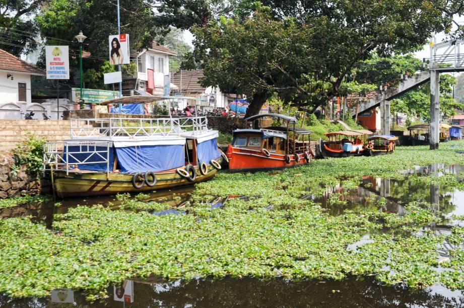 """<strong>Alappuzha (Alleppey) –<a href=""""http://viajeaqui.abril.com.br/paises/india"""" target=""""_blank"""" rel=""""noopener""""> Índia</a></strong> Alappuzzha serve como ponto de partida para o passeio dos backwaters de Kerala, que navega por cerca de 1500 km canais naturais e artificiais no Sul da Índia. A vista é composta pelas belezas naturais da Índia, plantações de arroz e muitas casas flutuantes. Os canais de Allappuzha surpreendem pelo centro caótico e interessante da cidade. O ritmo urbano é ditado pelos canais.<a href=""""http://www.booking.com/city/in/alleppey.pt-br.html?aid=332455&label=viagemabril-venezasdomundo"""" target=""""_blank"""" rel=""""noopener""""><em>Busque hospedagens em Alappuzha no booking.com</em></a>"""