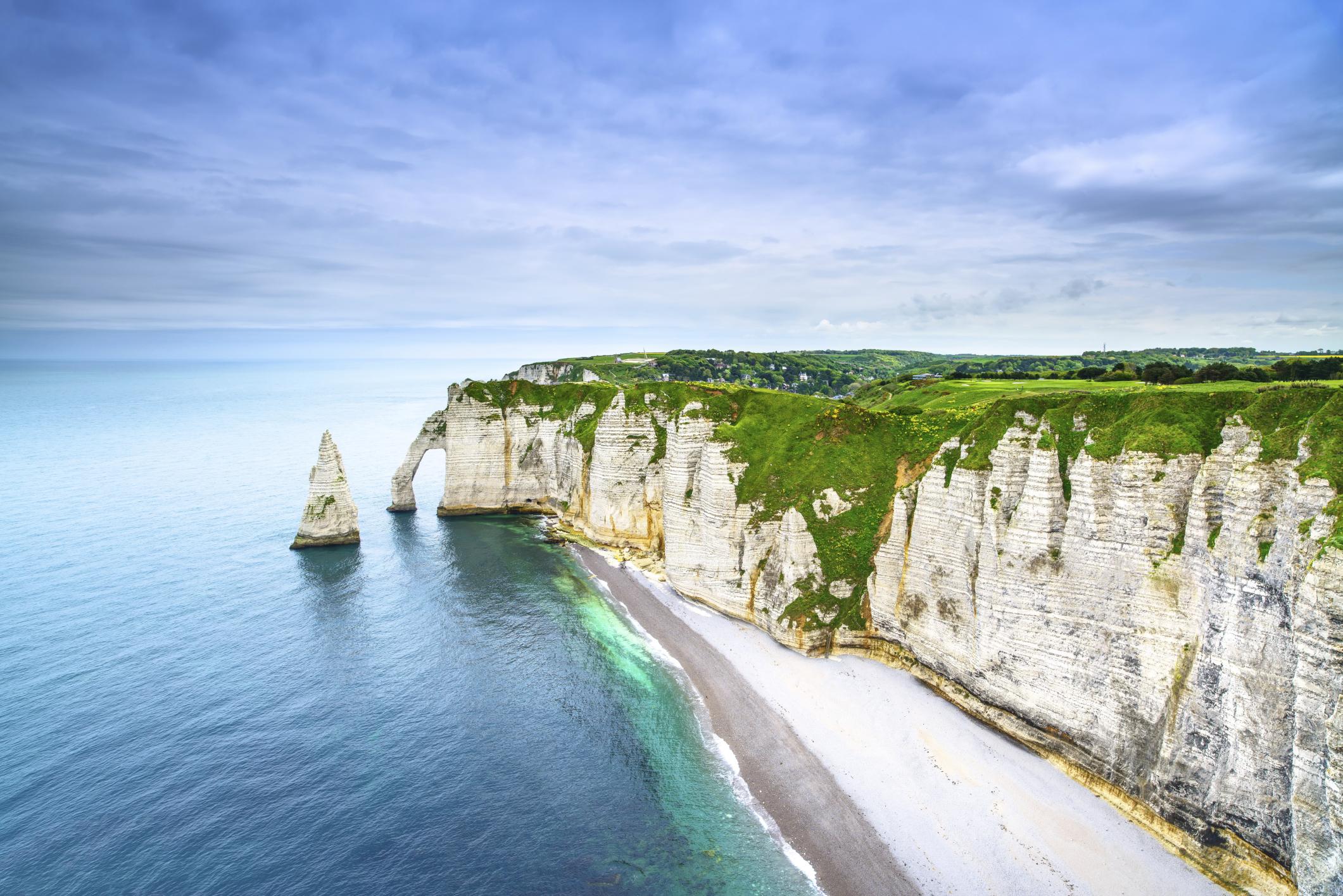 Falésias pelo mundo - Etretat, Normandia