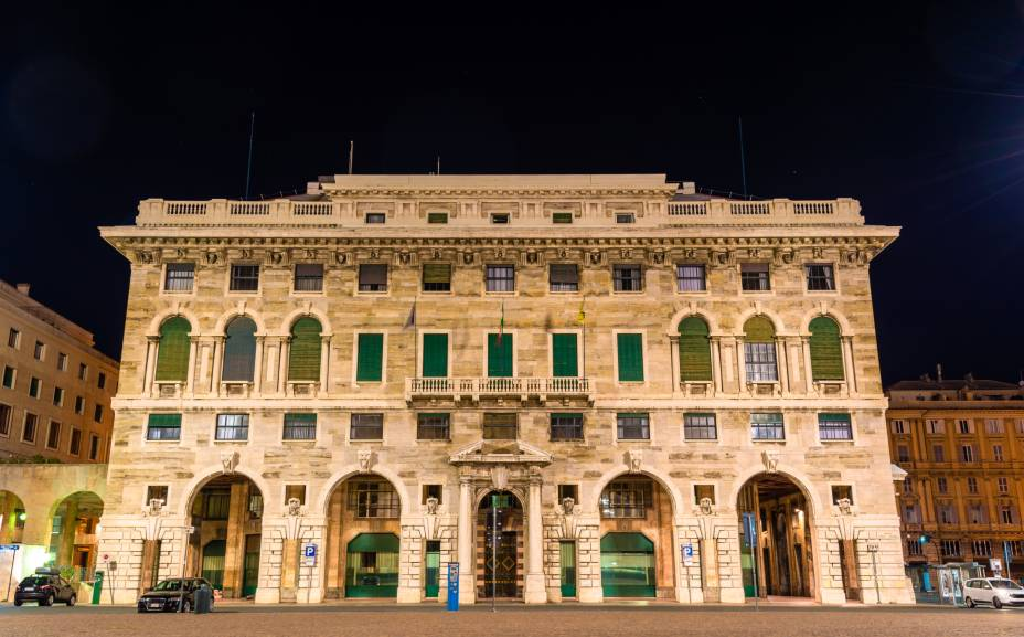 """A arquitetura mostra o valor histórico de <a href=""""http://viajeaqui.abril.com.br/cidades/italia-genova"""" rel=""""Gênova"""">Gênova</a>, a quinta maior cidade italiana"""